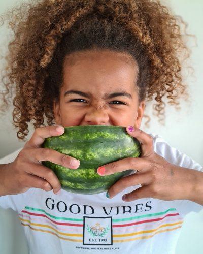 Groen watermeloen